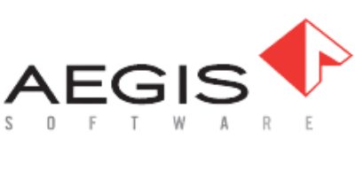 Aegis Software Red and Black